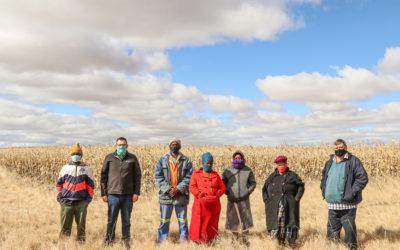 Gesamentlike landbouontwikkelingsprojek stroop eerste oes