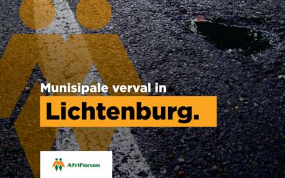 Munisipale verval in Lichtenburg