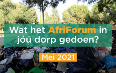 AFRIFORUM TAKSUKSESSE: MEI 2021
