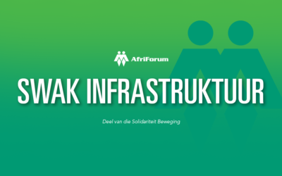 Naledi Munisipaliteit – Swak infrastruktuur